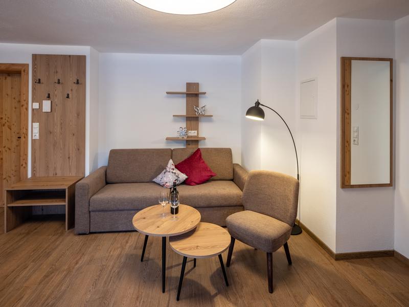 Wohnbereich Appartement Hartkaiser