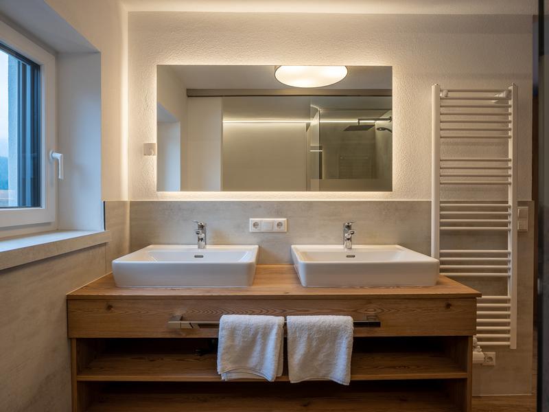 Waschbereich Appartement Wilder Kaiser